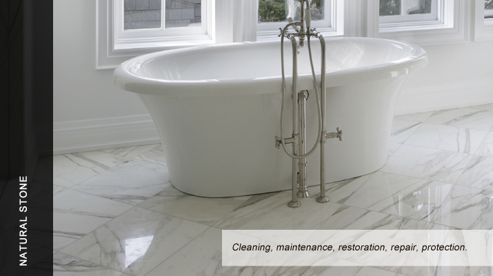 Marble and all natural stone cleaning and maintenance